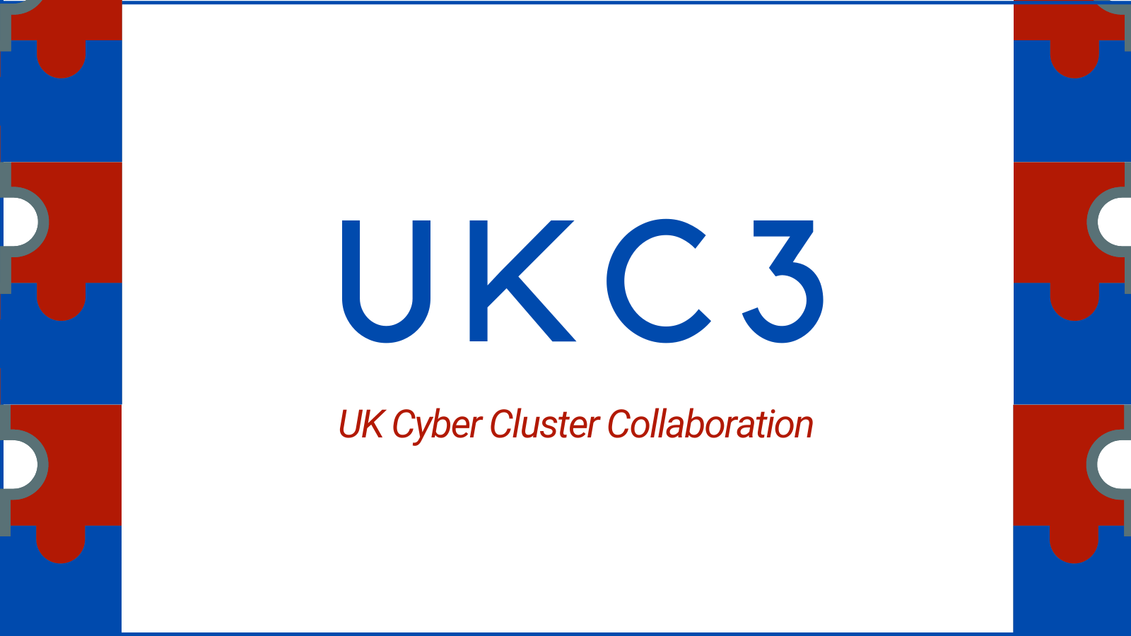 UKC3 cyber clusters collaboration